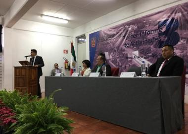 Tercer informe de la Escuela Preparatoria Regional de Casimiro Castillo